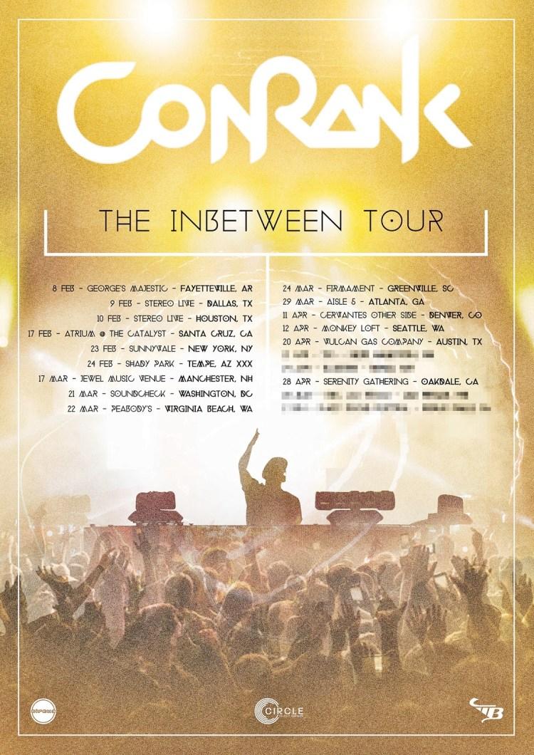 Conrank 2018 Tour Flyer