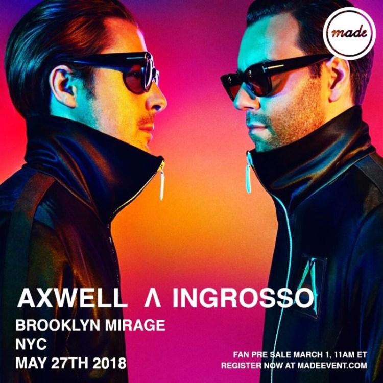 Ingrosso 2018 Flyer