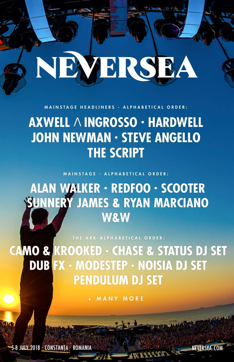 Neversea 2018 Flyer