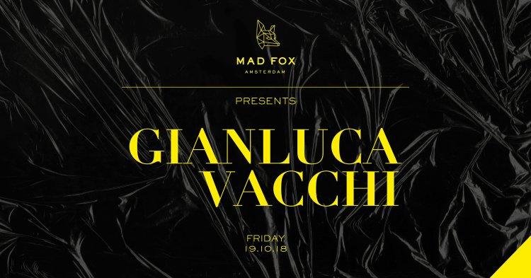 Gianluca Vacchi ADE 2018 Flyer