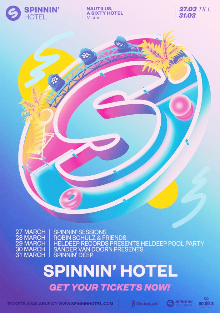 Spinnin Hotel March 2019 Flyer
