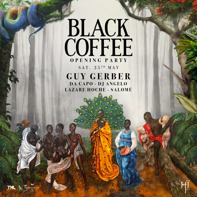 Black Coffee Hi Ibiza 2019 Flyer