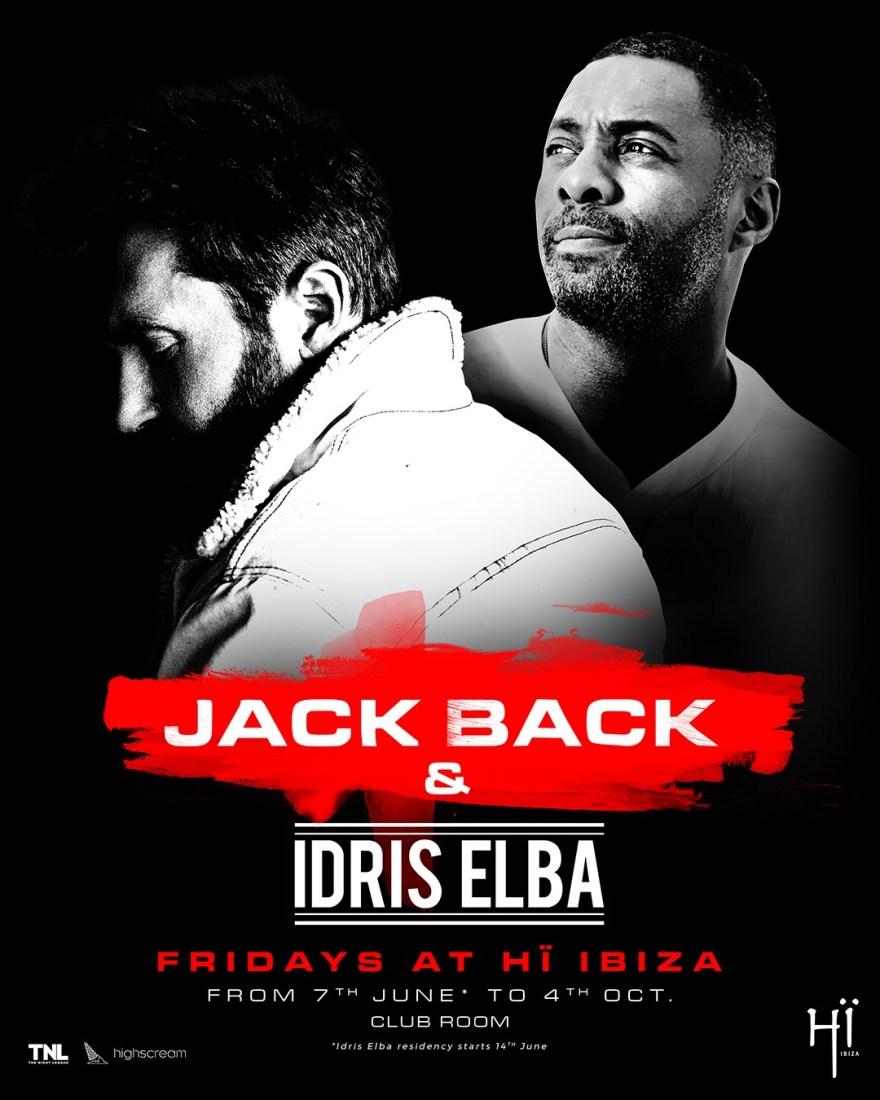 Jack Back & Idris Elba 2019 Flyer