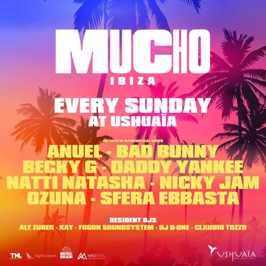 MUCHO Ibiza 2019 Flyer