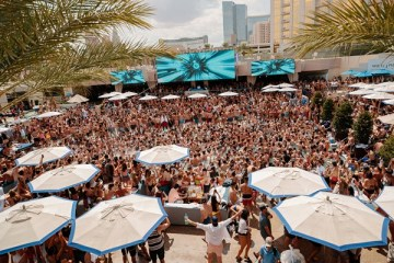 WET REPUBLIC Ultra Pool at MGM Grand Hotel & Casino in Las Vegas 2019 Season_Photo Credit Wolf Productions