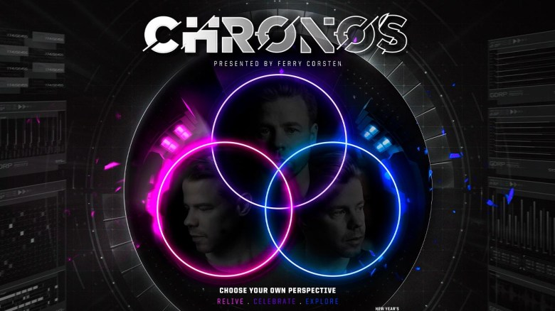 Choose Your Own Perspective with Ferry Corsten's New Digital Sensory Show ' Chronos' on Looped