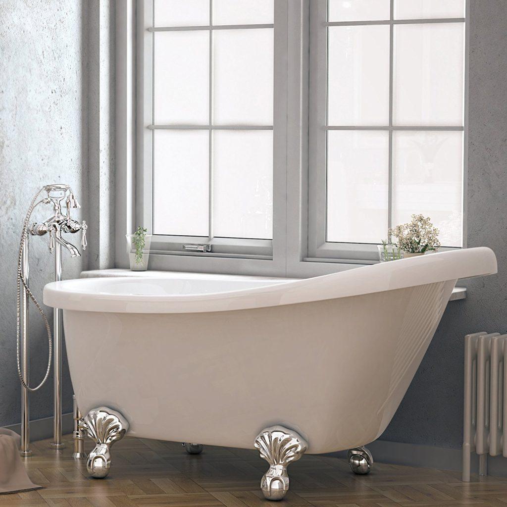 New Acrylic Clawfoot Bathtub