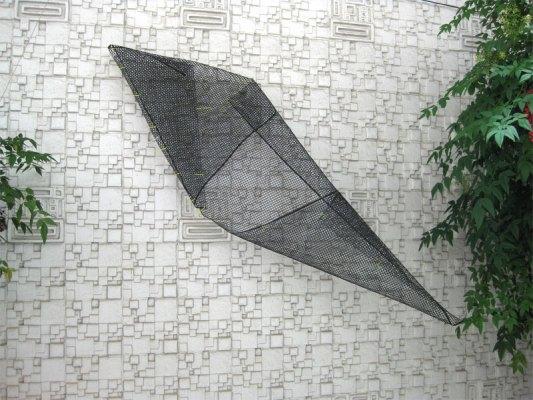 Shark Mesh Sculpture