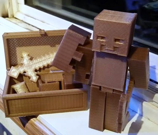 Diamond Minecraft Tools: Pickaxe, Axe, Shovel, & Sword