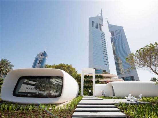 Dubai Opens World's 1st 3D Printed Office Bldg