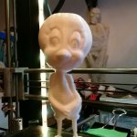 Tweety Bird 3D Printed