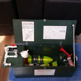 Ultimate Water Rocket DCS-917 Launch System Open