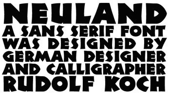 Neuland, Walnut and Journals