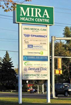 We are conveniently located in the Mira Health Centre on 111th Avenue and 119thStreet