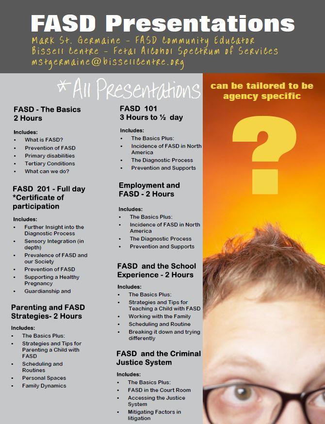 FASD Presentations