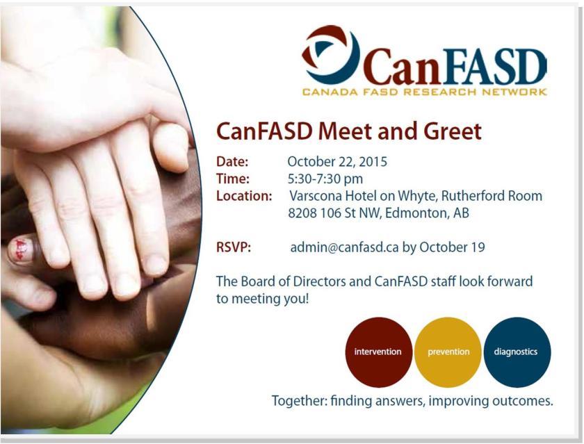 CanFASD Meet and Greet