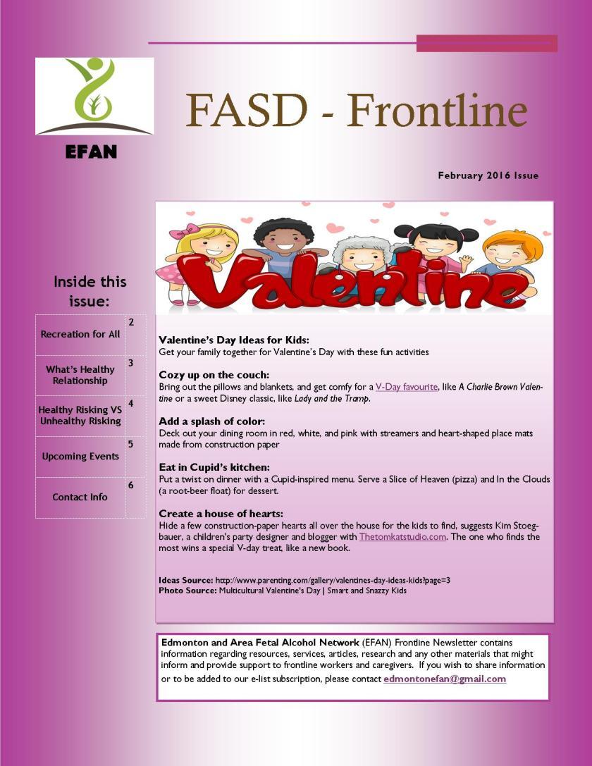 February 2016 Newsletter - Image