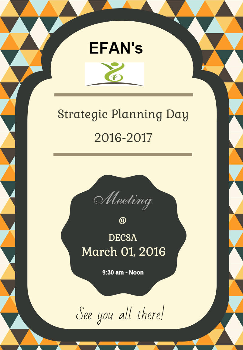 Strategic Planning Day 2016
