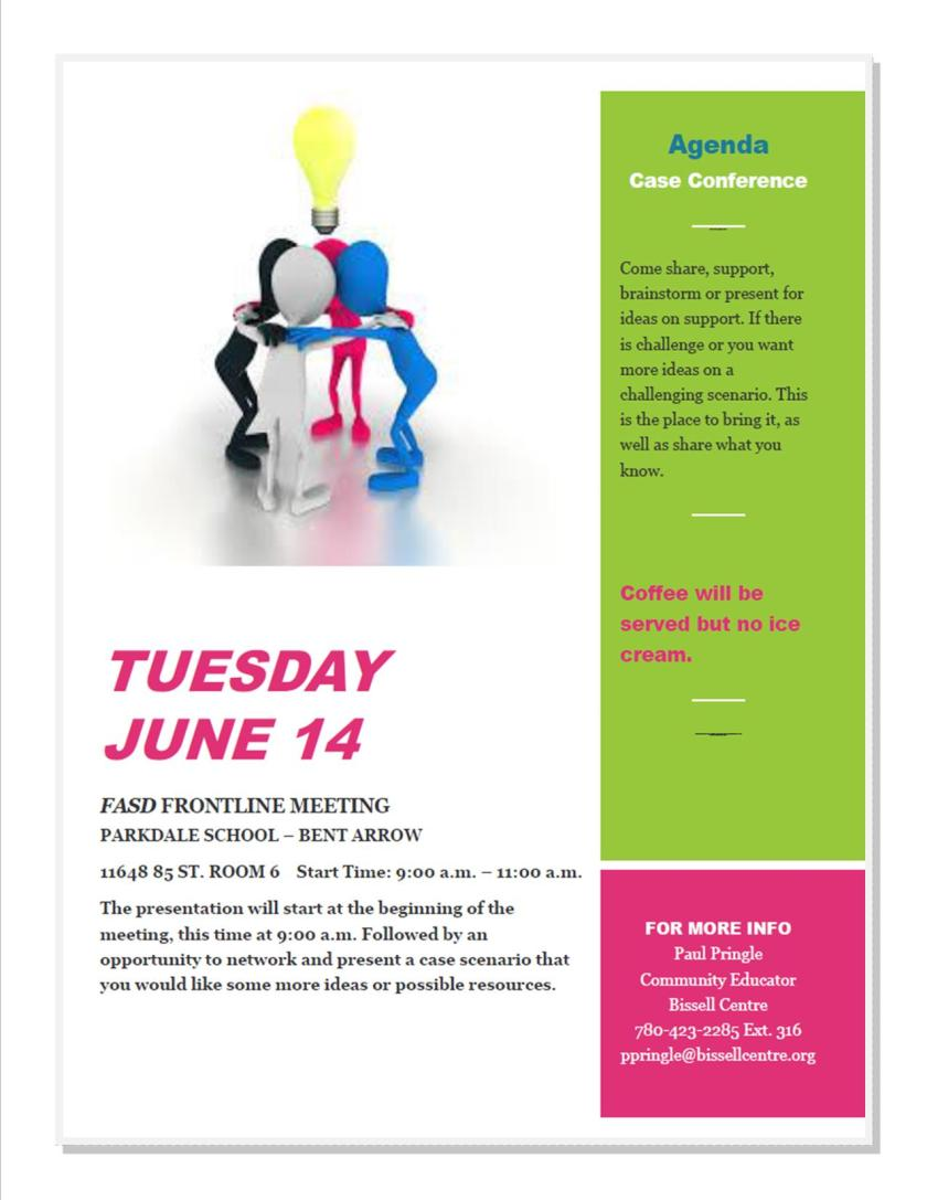 June Agenda
