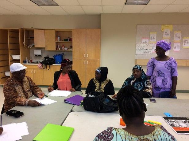 Sierra Leone gathering.