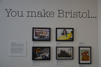 An exhibition sharing stories of Bristolians.