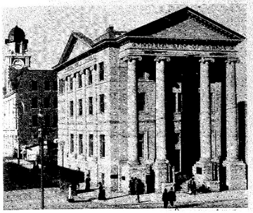 The Imperial Bank of Canada Building, where the Liberator was published in the 1930s.