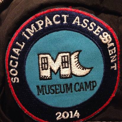 The Museum Camp Badge