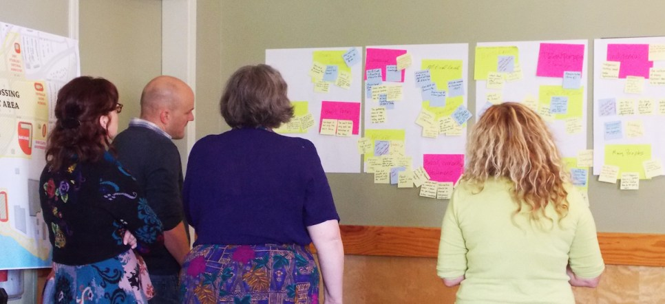 Visioning Workshop. Photo by John DeWolfe.
