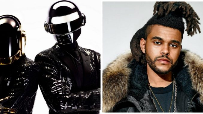 the weeknd daft punk
