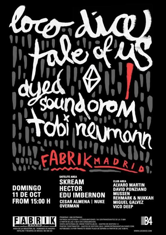 Fabrik-Loco-Dice-EDMred Loco Dice en Fabrik el 11 de octubre