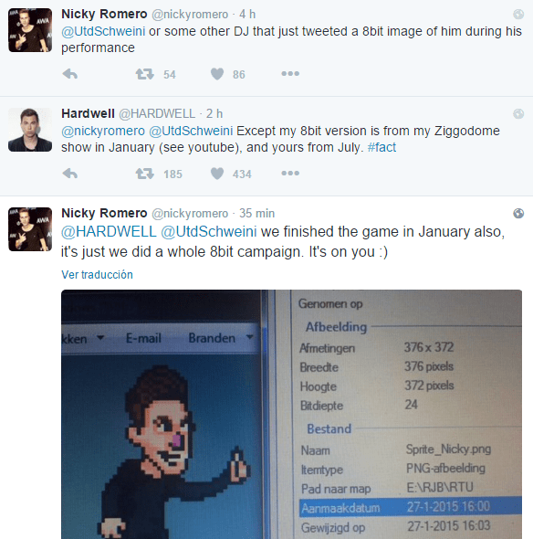 nicky-romero-hardwell-twitter-edmred Nicky Romero acusa a Hardwell de plagio