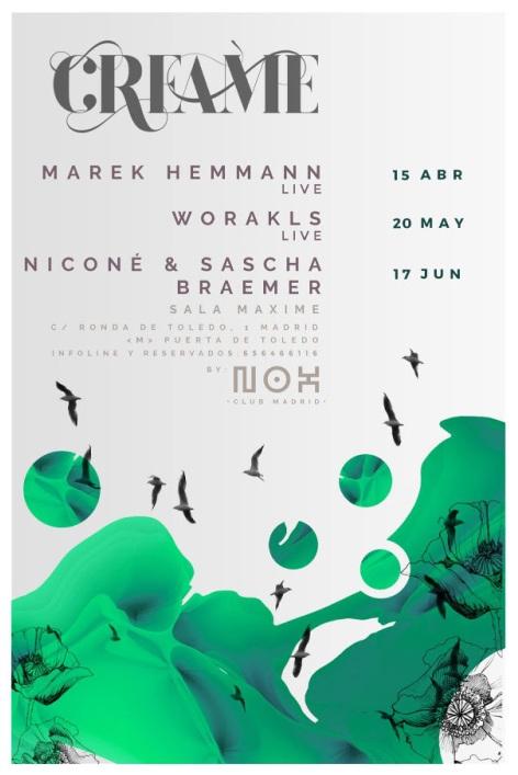Creme Nox Club abril