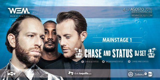chase and status WEM Music Festival EDMred