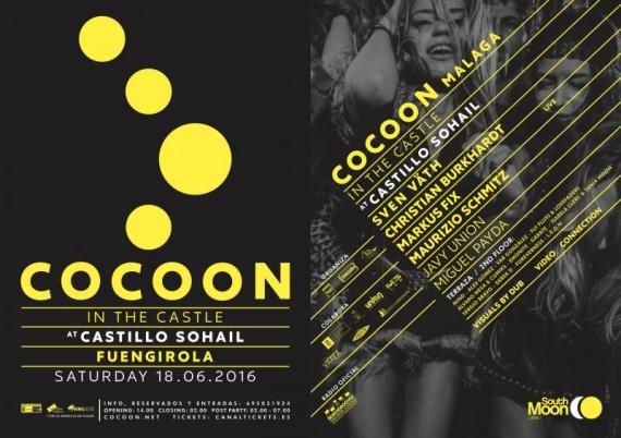 "cocoon-int-the-castle South Moon se rinde al sonido de ""Cocoon"" en su segunda edición"