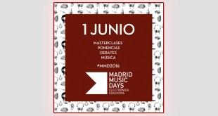 Madrid Music Days EDMred