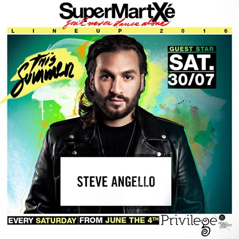 supermartxé privilege Steve Angello EDMred