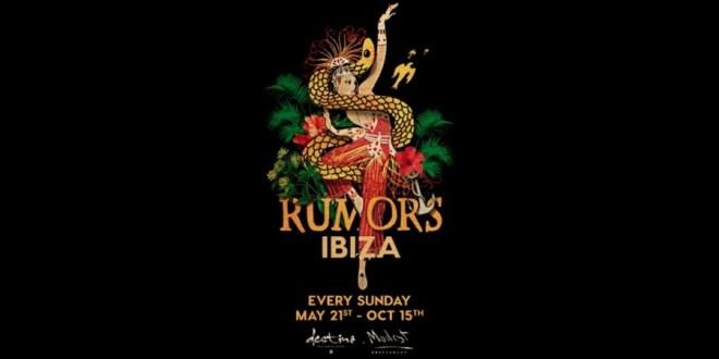 Guy Gerber lleva la residencia de RUMORS a Ibiza con el mayor line-up hasta la fecha