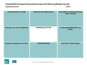 Routenplaner Neupositionierung und Profilierung
