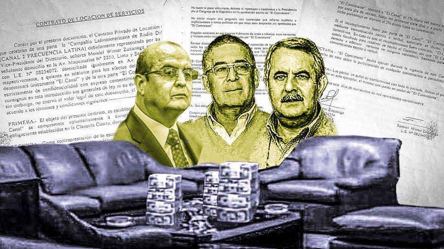 Los hermanos Winter sometieron la línea editorial ante Fujimori y Montesinos.