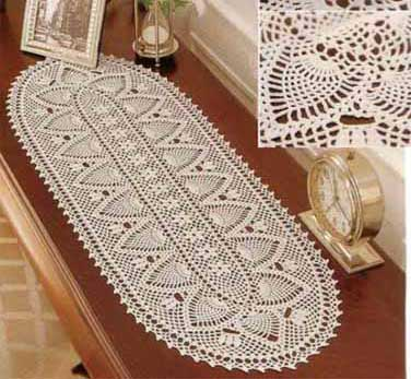 CROCHET Chemin Table