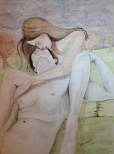 Ulisses & Penelope's kiss