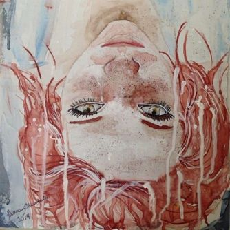 watercolor, ink and acrylic dough into a cardboard 24x32 cm Price: BRL$ 500,00