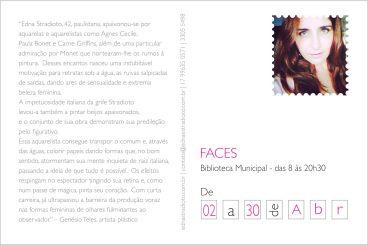 postal FACES - verso