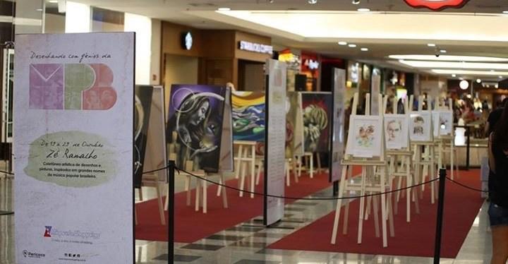 A obra de Zé Ramalho é tema de mostra no Riopreto Shopping