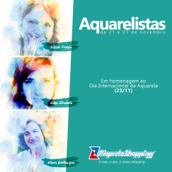 as aquarelistas banner
