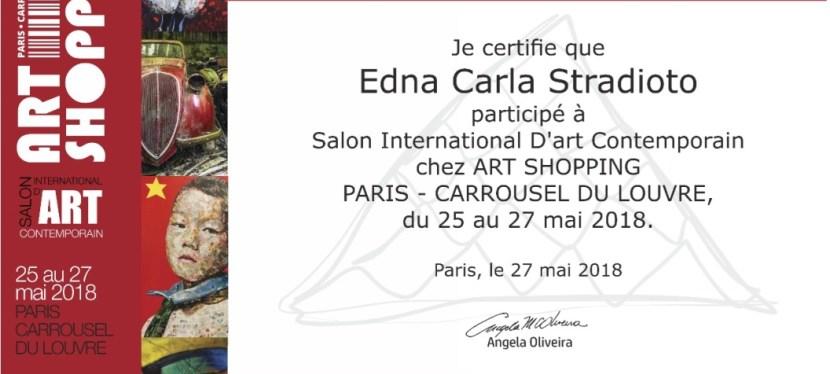 Carrousel du Louvre: certificate