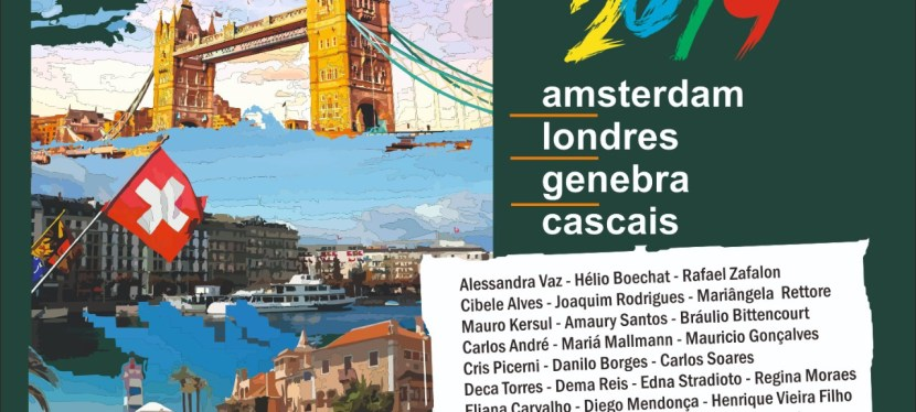 Project 2019 March/April: Amsterdam, London, Genebra and Cascais