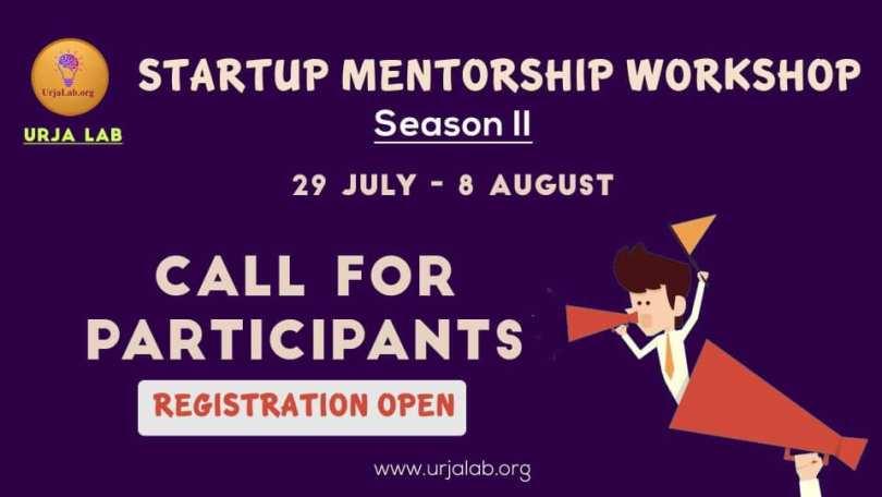 Startup Mentorship Workshop