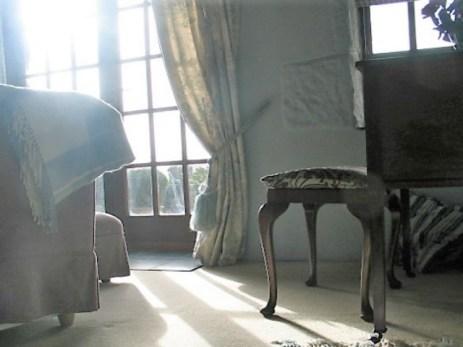 Elegant spacious light filled bedroom