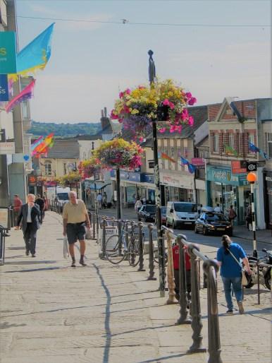 Street scene in Penzance